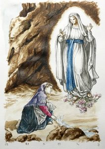 st bernadette and mary