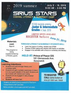 Summer Camp Sirius Stars