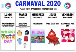 Carnaval at St. Bernadette's