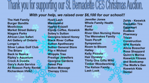 Thank you to our donors!!