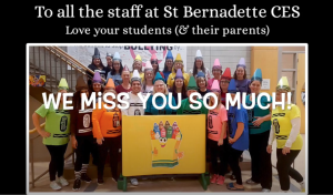 SBE Community Thanks Staff