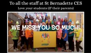 SBE Community Thanks Staff
